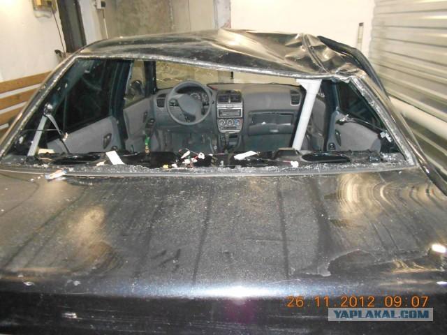 Ремонт крыши машины видео