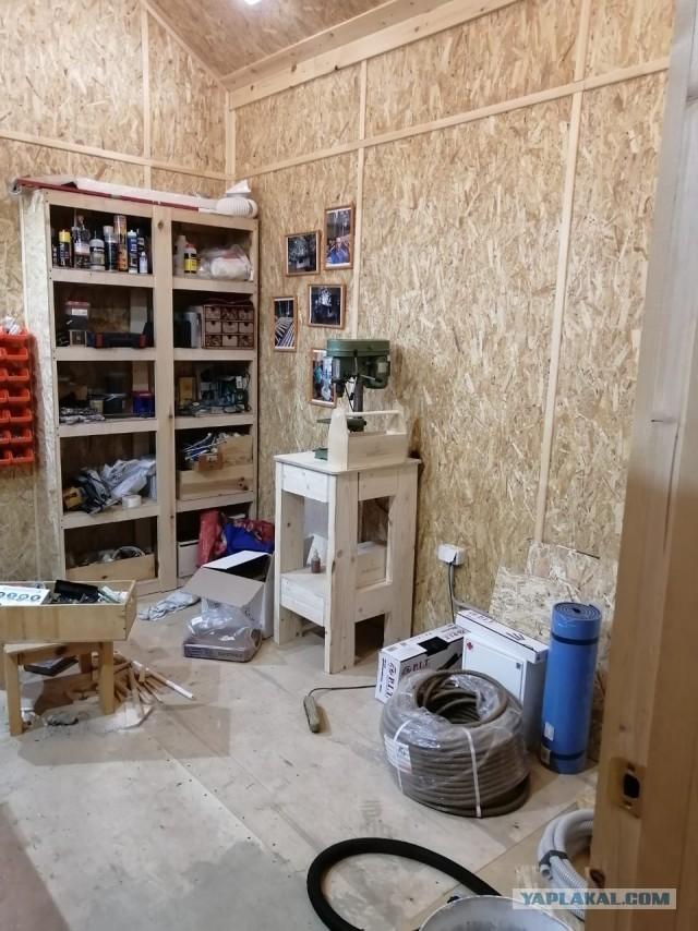 Как я решил построить туалет и маленький сарайчик для велосипедов - три года спустя