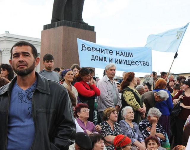 Крымские татары потребовали от властей