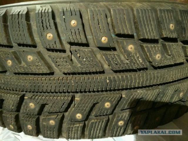 Продам резину Kumho 205 55 r16 91T (зима)