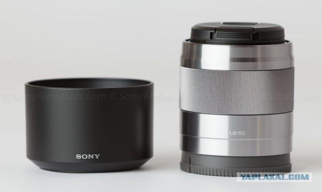 Объектив Sony 50mm f/1.8 OSS