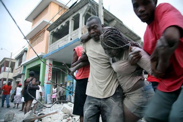 Землетрясение на Гаити