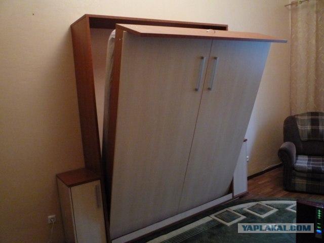 Как сделать своими руками шкаф кровать