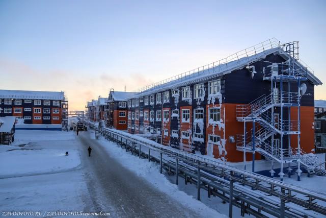 Как живут вахтовики на Ямале