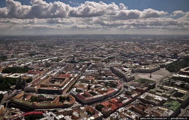 Питер с высоты: вертолетная экскурсия