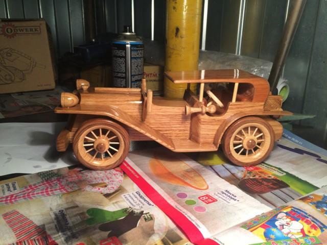 Сделать своими руками игрушку из дерева