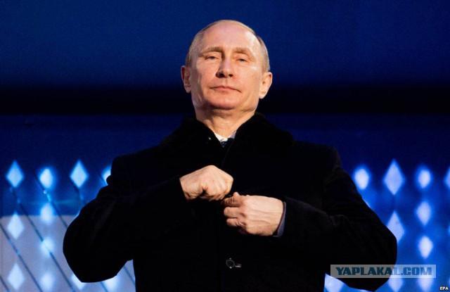 Рейтинг Владимира Путина бъёт рекорды