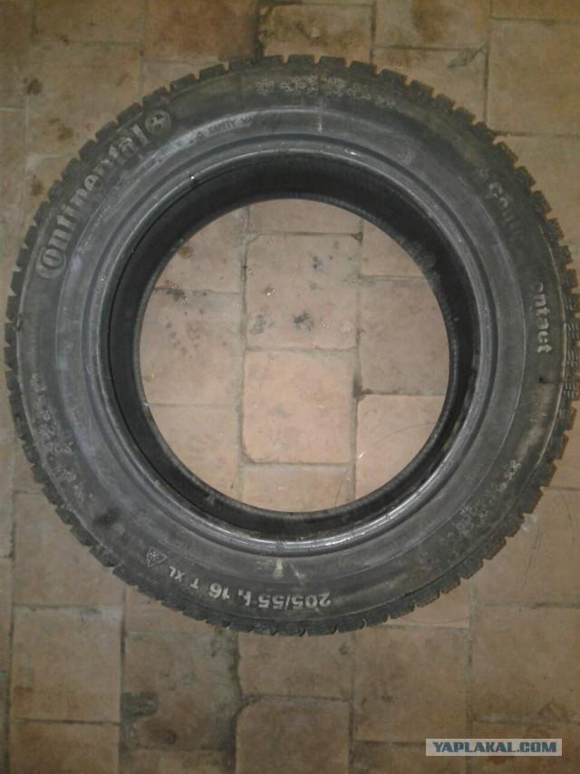 Продам диски и шины 205-55 r16