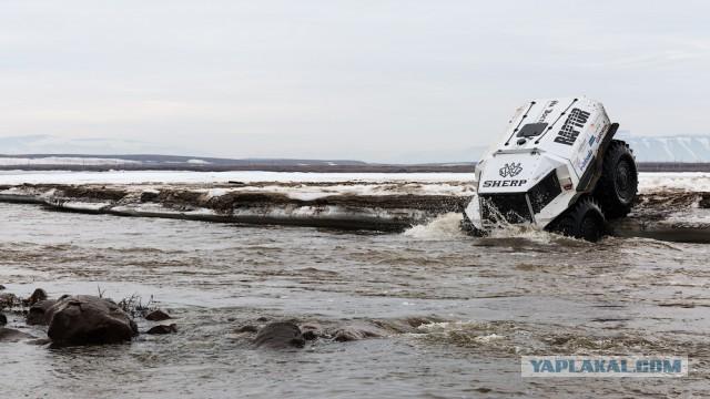 На колёсах вдоль Полярного круга от Белого моря до Чукотки