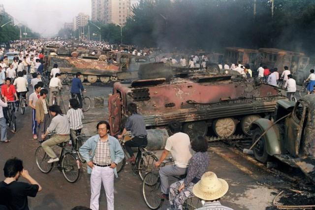 30 лет событиям на Тяньаньмэнь