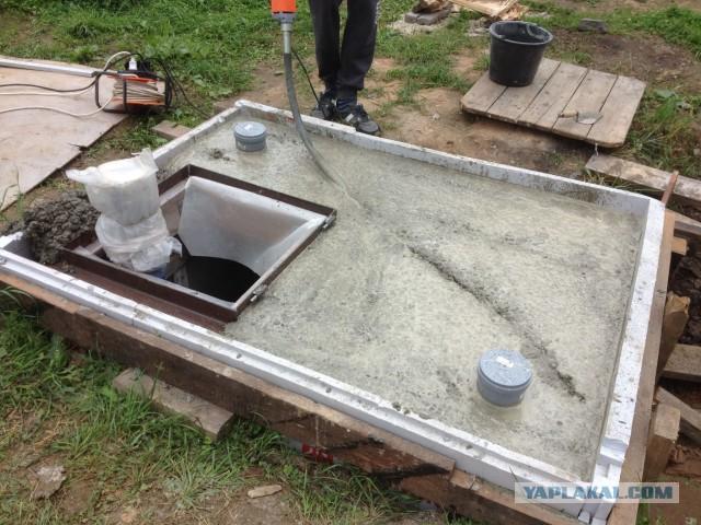 Обустройство скважины или бетонный кессон своими руками