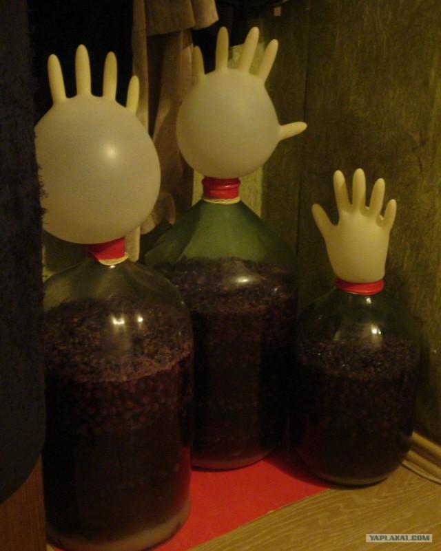 Самодельное вино в домашних условиях
