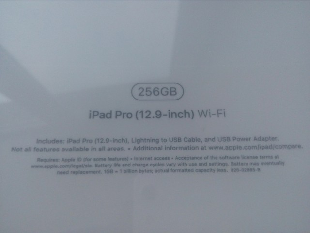 iPad Pro MP6H2LL/A (12.9-inch) Wi-Fi 256GB