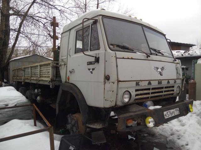 Продам КАМАЗ бортовой 54105