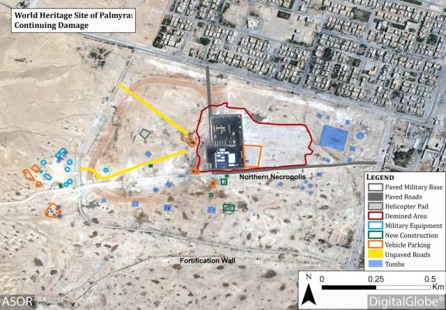 Построенную среди древних сирийских руин военную базу РФ заподозрили в нарушении Гаагской конвенции
