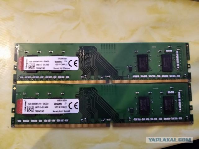 ПРодам память DDR4 2x4 ГБ Kingston