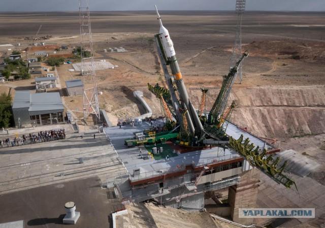 Запуск КК Союз ТМА-18М