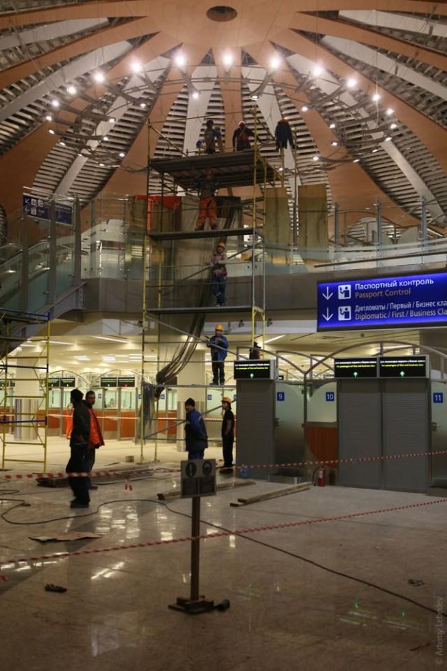 Новый терминал Д в Шереметьево
