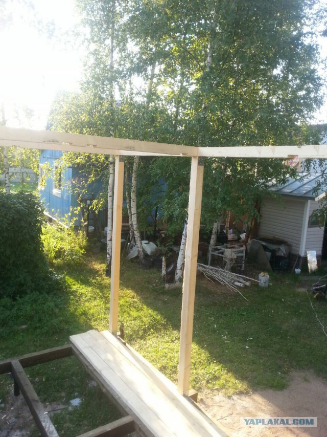 Как я решил построить туалет и маленький сарайчик для велосипедов