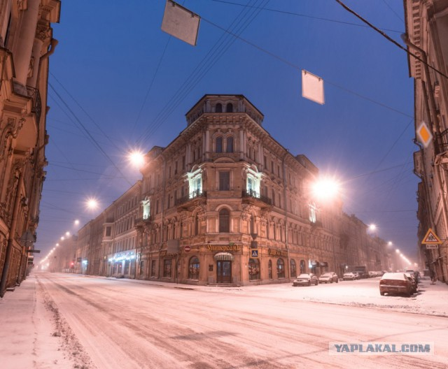 Питер. Зима
