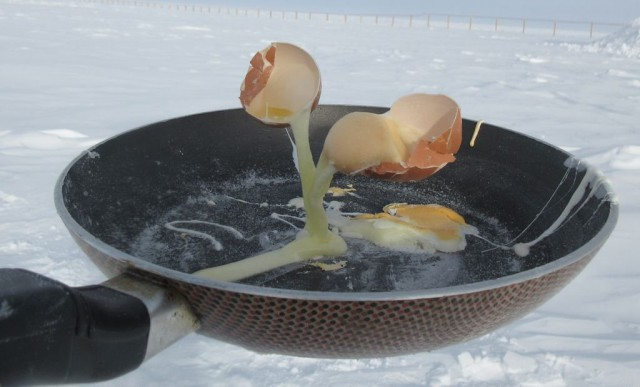 Еда при -60°C