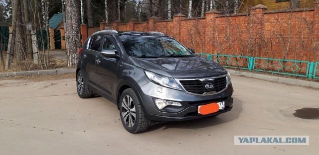 Москва (СВАО) Kia Sportage 2013 (куплена в апреле 2014))