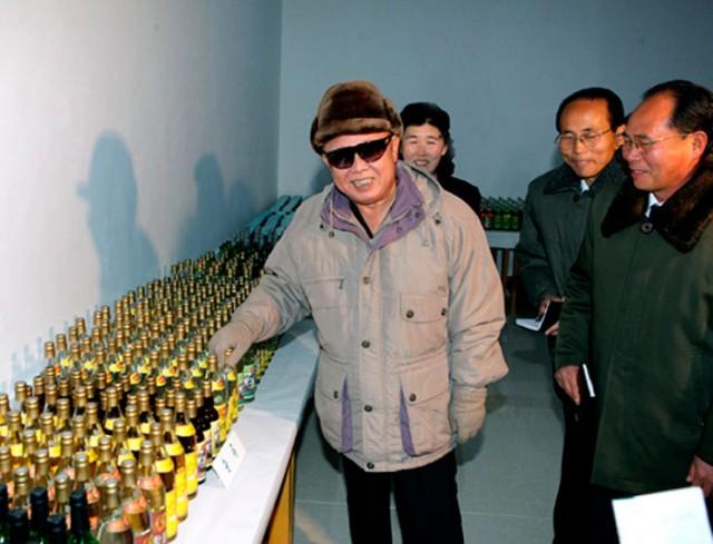 Ким Чен Ир ведет бой за качество алкоголя