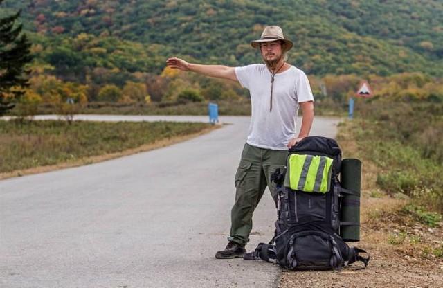 Обычный парень гуляет по стране
