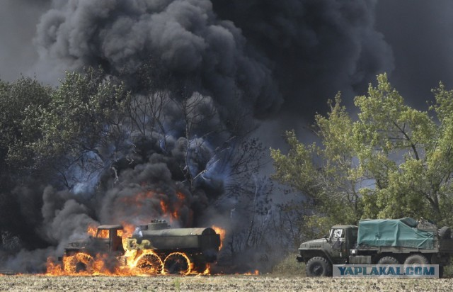 Ополчение: батальон «Азов» разгромлен