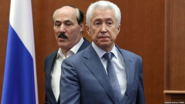 Премьер-министр Дагестана и 2 его заместителя задержаны ФСБ