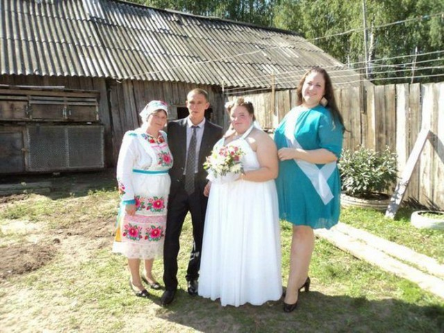 наша деревенская невеста фото