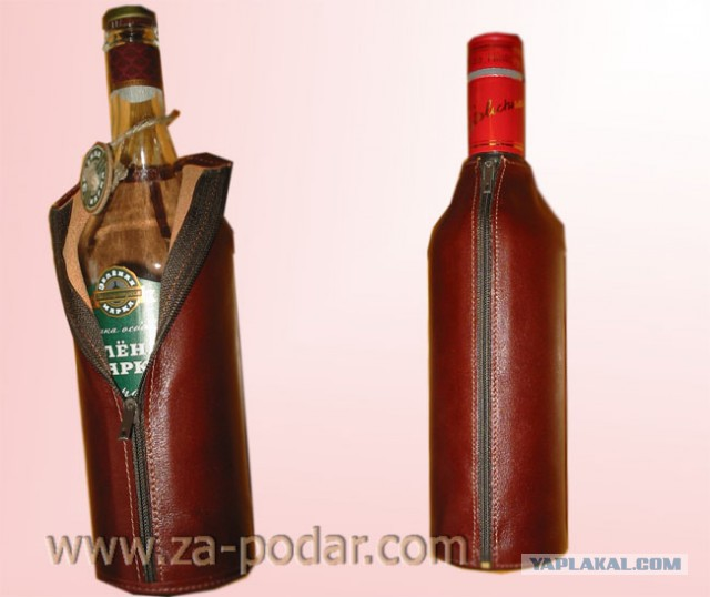 Футляры для бутылок своими руками