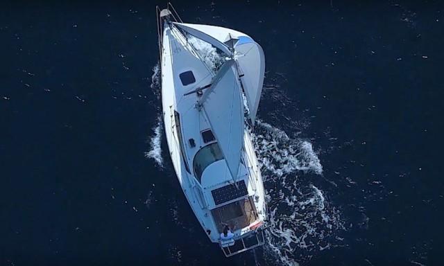 Один день из жизни на яхте в Черногории
