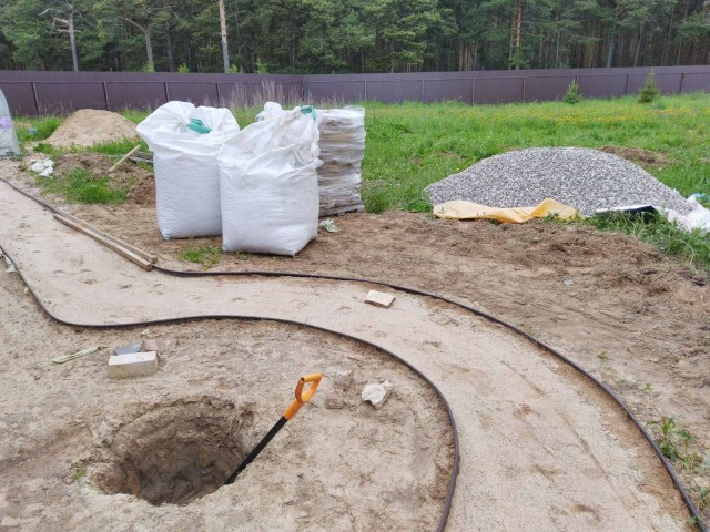 Ландшафтное строительство в условиях кризиса. Садовая дорожка