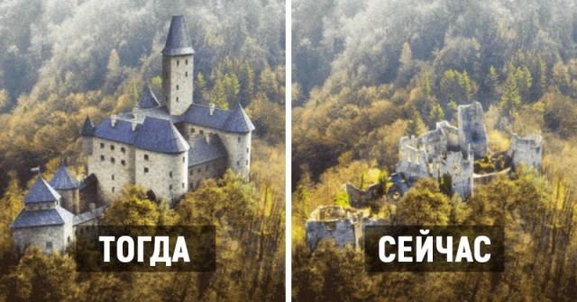 Как могли выглядеть замки Европы в прошлом. Реконструкция
