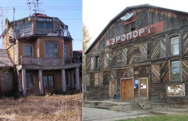 Деревянные аэропорты России, большинство из которых до сих пор функционирует