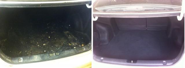 Как я организовал химчистку в гараже. Часть 5