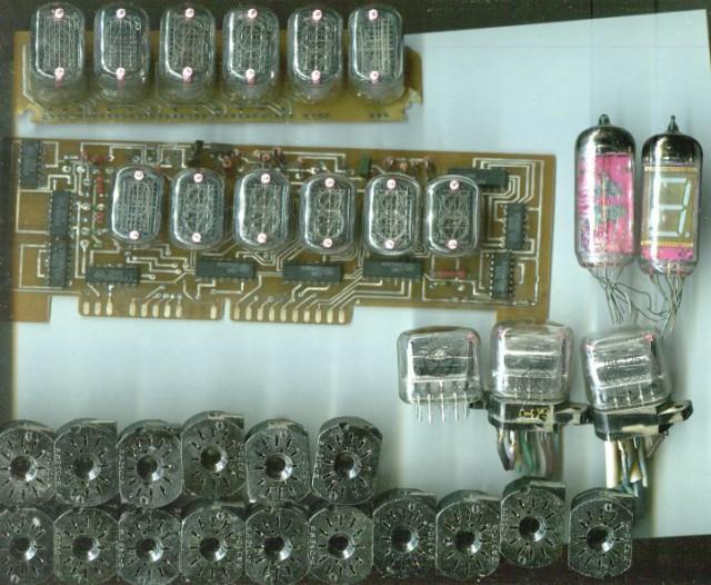 лампы на часы, панельки