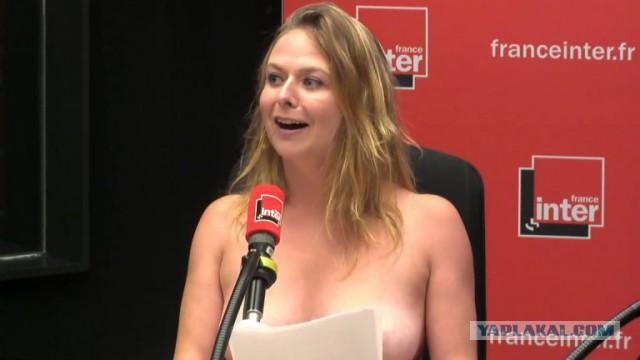 Выпуск новостей на французком радио