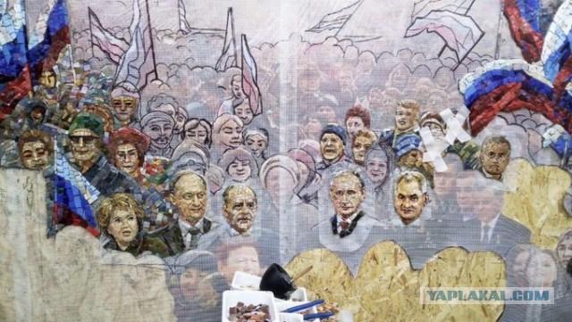 Главный храм минобороны украсят мозаиками с Путиным, Шойгу и Сталиным