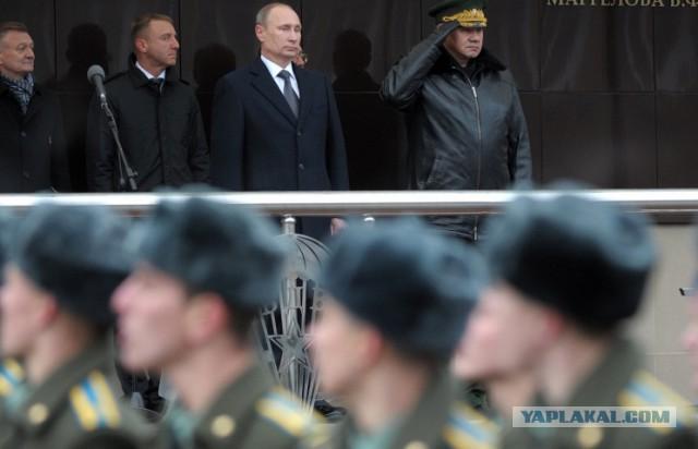 Путин поблагодарил военных