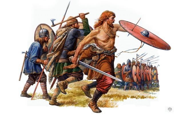 Воины эпохи Древней Руси X - XI веков.