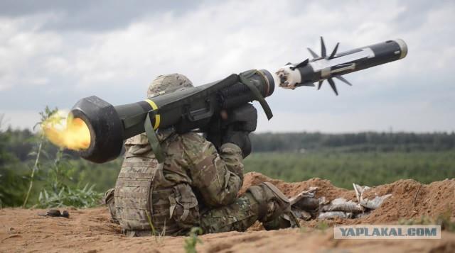 Грузия получила от США первые противотанковые комплексы Javelin