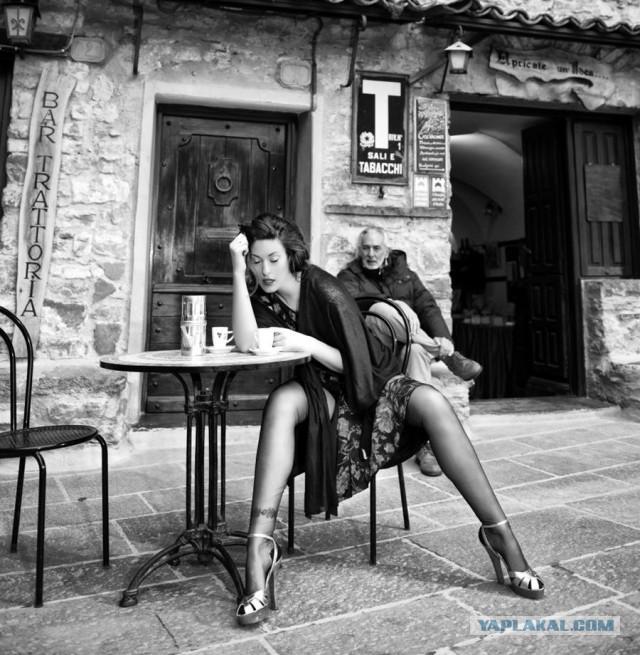 Чёрно-белые фото