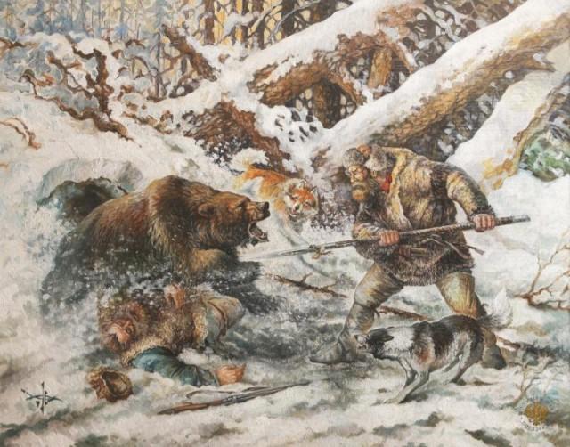 Рогатина на войне и на охоте