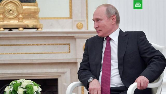Путин продлил продуктовое эмбарго до конца 2019 года