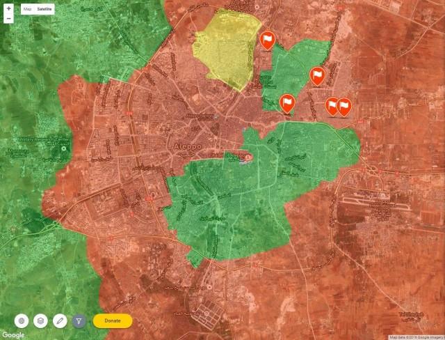 В Алеппо новый котел, террористы стремительно сдают позиции.