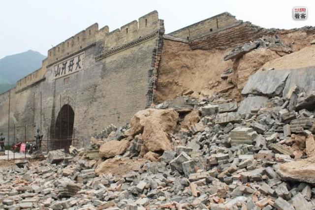 Великая китайская стена оказалась подделкой