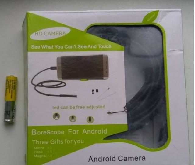 Эндоскоп HD для смартфона