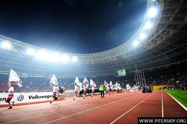 Фоторепортаж с матча Россия-Германия